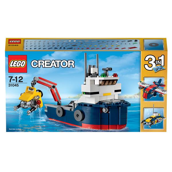 Конструктор Lego Creator 31045 Конструктор Морская экспедиция