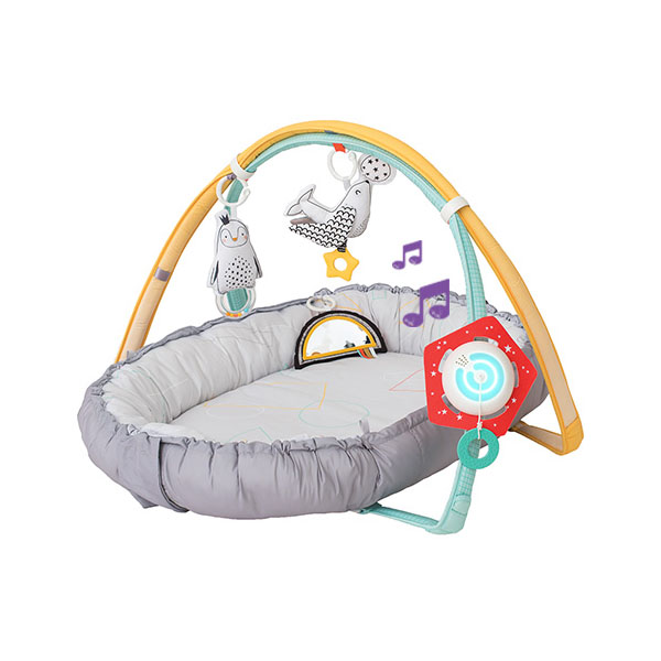 Taf Toys 122350 Таф Тойс Музыкальный развивающий коврик (с мягкими бортами) 100*80 развивающий коврик biba toys happy garden 100 100 см gd053