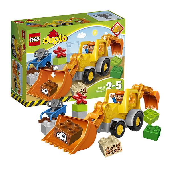 Lego Duplo 10811_9 Лего Дупло Экскаватор-погрузчик