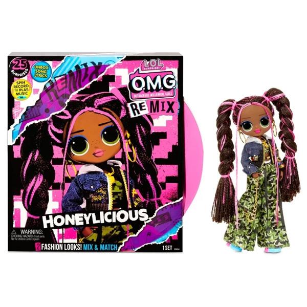 L.O.L. Surprise 567264 Кукла L.O.L. OMG Remix-Honeylicious