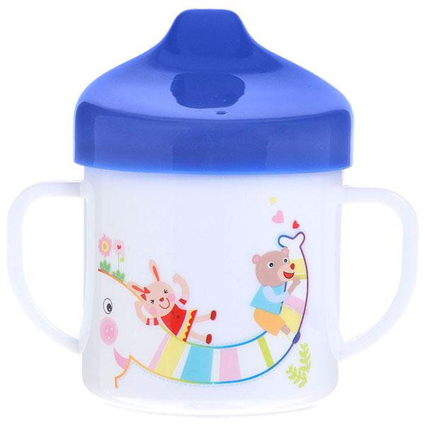 Canpol babies 250930136 Поильник обучающий, синий, 200 мл. 9м+