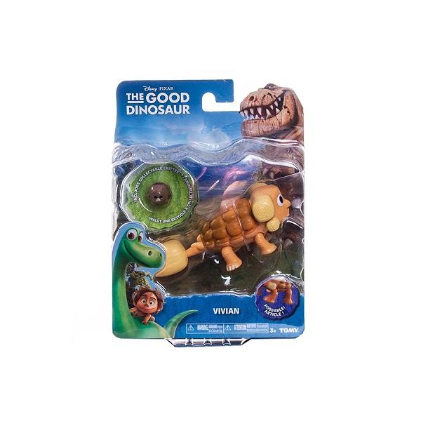 Good Dinosaur 62006 Хороший Динозавр Маленькая подвижная фигурка Юный Анкилозавр