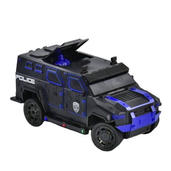 HK Industries 666-710ABl Джип Полиция синий, р/у джип полиция