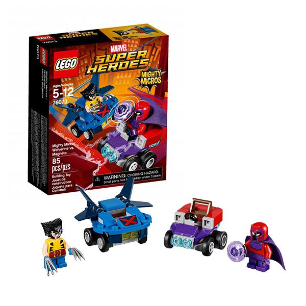 Lego Super Heroes Mighty Micros 76073 Лего Супер Герои Росомаха против Магнето конструктор lego super heroes 76069 mighty micros бэтмен против мотылька убийцы