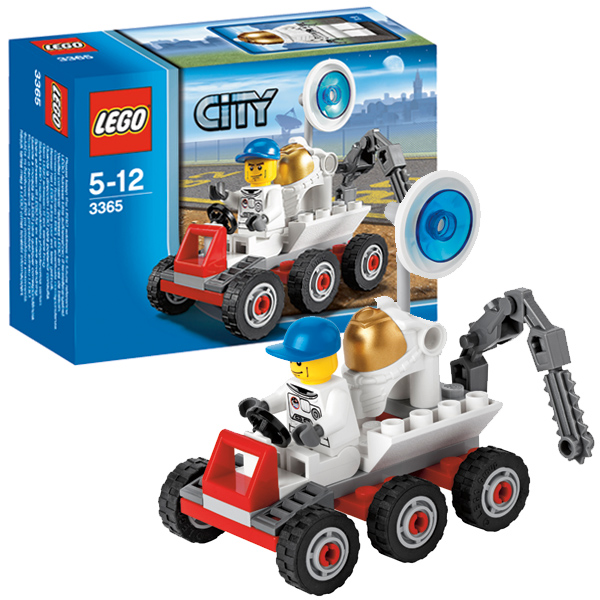Lego City 3365 Конструктор Лего Город Космический лунный багги