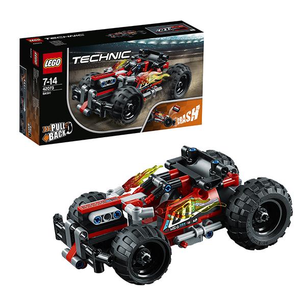 Lego Technic 42073 Конструктор Лего Техник Красный гоночный автомобиль lego technic конструктор гоночный автомобиль для побега