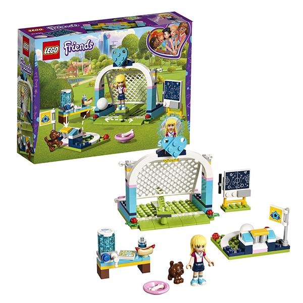 Lego Friends 41330 Лего Подружки Футбольная тренировка Стефани конструктор lego friends кондитерская стефани 41308