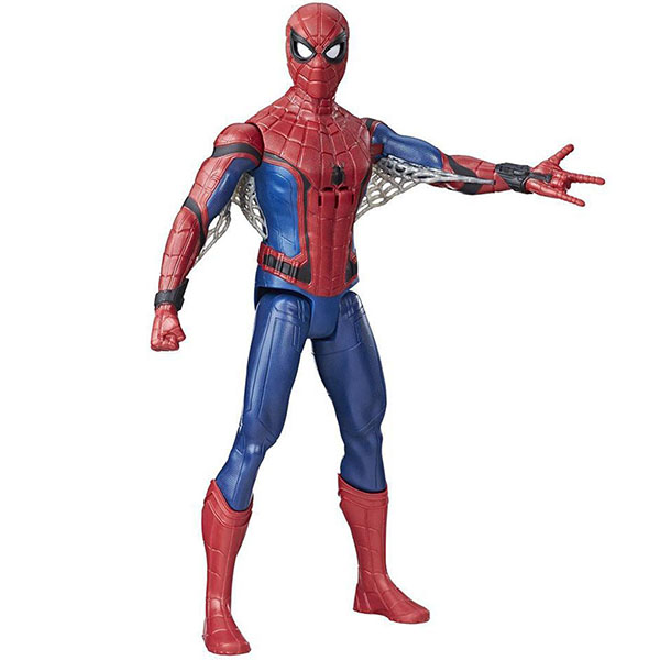 Hasbro Spider-Man B9693 Фигурка электронная Титан spider man фигурка электорнная титан