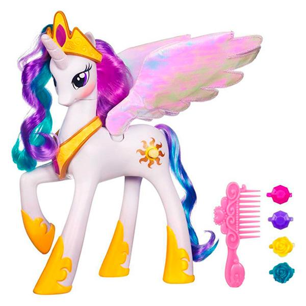 Hasbro My Little Pony A0633 Принцесса Селестия hasbro hasbro my little pony игровой набор поезд дружбы