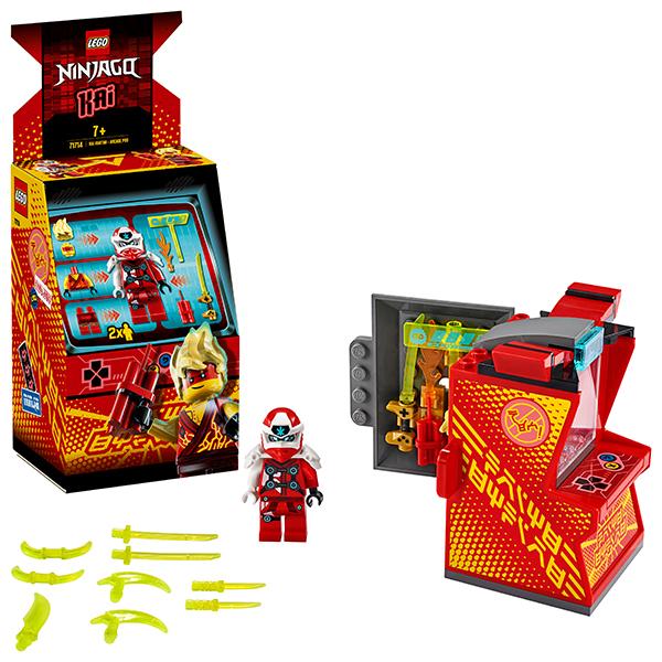 LEGO Ninjago 71714 Конструктор ЛЕГО Ниндзяго Игровая капсула для аватара Кая