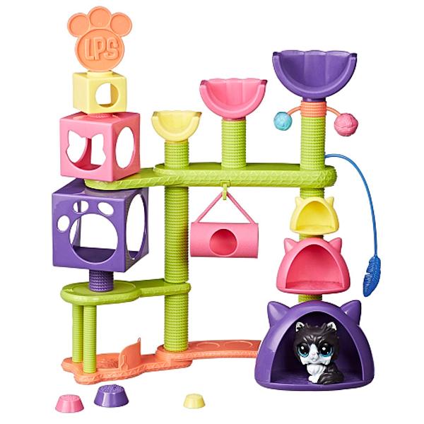 Hasbro Littlest Pet Shop E2127 Литлс Пет Шоп Домик для котят игровой набор littlest pet shop литл пет шоп shaken dry salon c0043 c1202