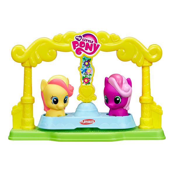 Hasbro My Little Pony B4626_9 Май Литл Пони Карусель для пони-малышек