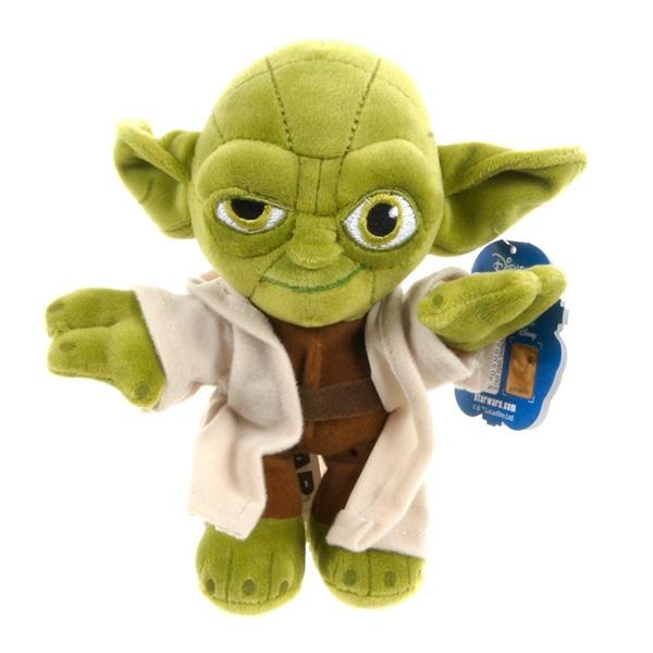 Disney Star Wars 1400617 Дисней Звездные Войны Йода, 30 см часы настольные star wars часы настольные bulbbotz star wars минифигура yoda йода