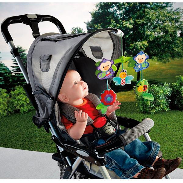 "Mattel Fisher-Price BHW59 Фишер Прайс Мобиль для коляски ""Веселые друзья"""
