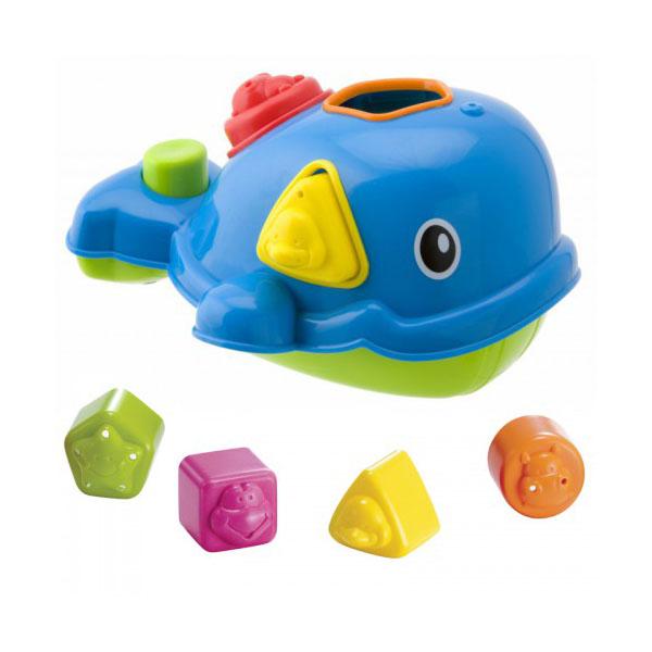 ALEX 837W Игрушка-сортировка Кит для ванны пластмассовая игрушка для ванны alex осьминог 842s