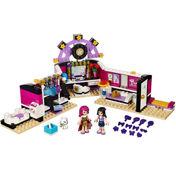 Лего Подружки 41104 Конструктор Поп звезда: гримерная