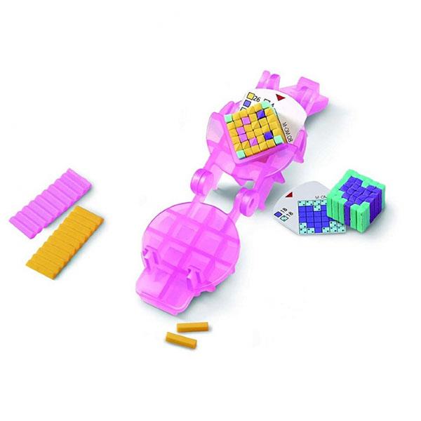 Pretty Pixels 38511 Студия для создания ластиков Смайлик pretty pixels студия для создания фигурных ластиков любимые увлечения розовый