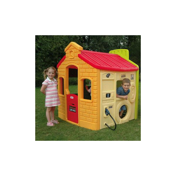 Little Tikes 444C_21 Литл Тайкс Игровой мульти-домик (спорт, школа, заправка, магазин)
