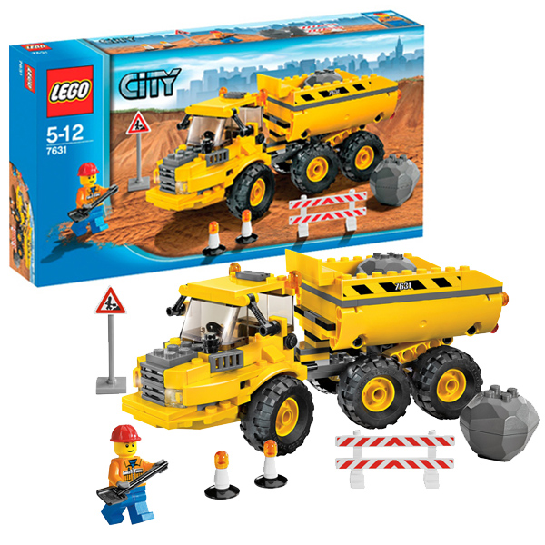 LEGO City 7631 Конструктор ЛЕГО Город Самосвал