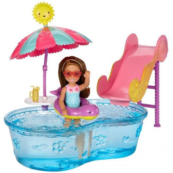 Mattel Barbie DWJ47 Барби Игровые наборы Развлечения Челси mattel кукла челси barbie