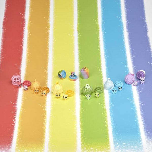 Hasbro Littlest Pet Shop C0796 Литлс Пет Шоп: Радужная коллекция - 13 крошечных радужных петов