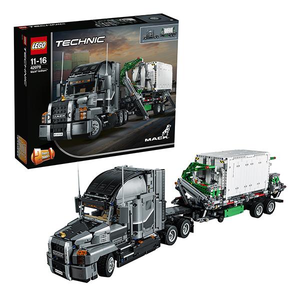 Lego Technic 42078 Лего Техник Грузовик MACK lego lego technic 42070 лего техник аварийный внедорожник 6х6