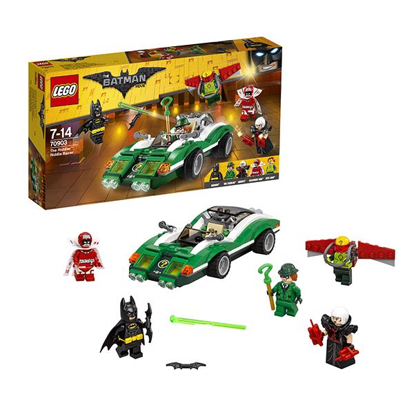 Lego Batman Movie 70903 Конструктор Лего Фильм Бэтмен: Гоночный автомобиль Загадочника lego batman movie блокнот бэтмен96 листов в линейку