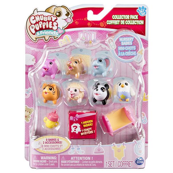 Chubby Puppies 56735-p Упитанные собачки Игровой набор из 10 предметов
