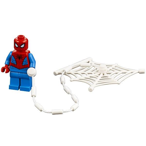 LEGO Super Heroes 76133 Конструктор ЛЕГО Человек-паук: Автомобильная погоня Человека-паука
