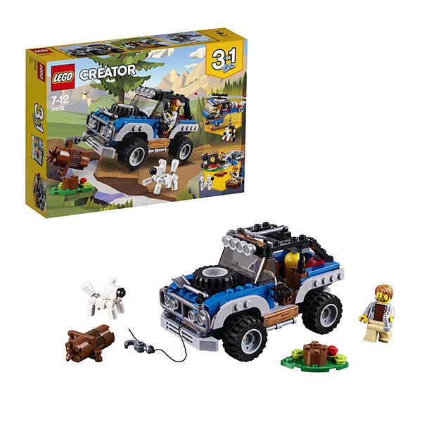 Lego Creator 31075 Лего Криэйтор Приключения в глуши lego горный внедорожник 70589