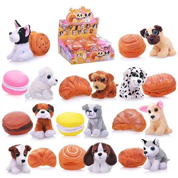 Sweet pups 1610032 Игрушка-трансформер Сладкие щенки 11 см трансформер sweet pups печенька 1610032