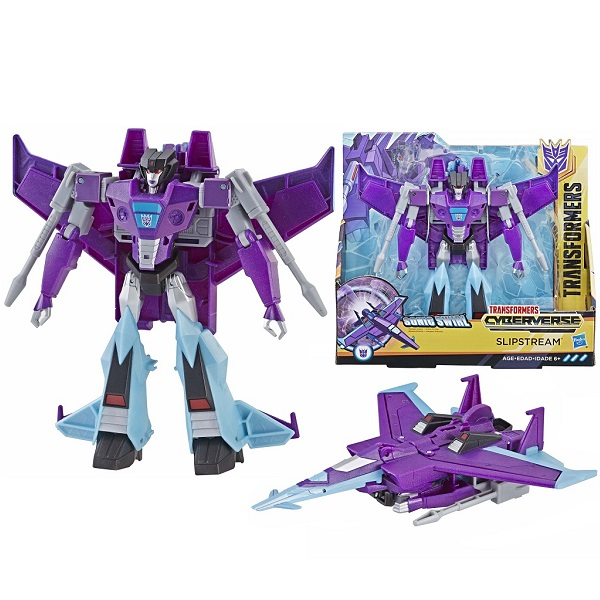 Hasbro Transformers E1886/E3640 Трансформер КИБЕРВСЕЛЕННАЯ 19 см Слипстрим недорого