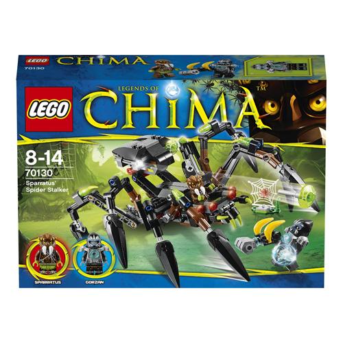 Конструктор Lego Legends of Chima 70130 Лего Легенды Чимы Паучий охотник Спарратуса