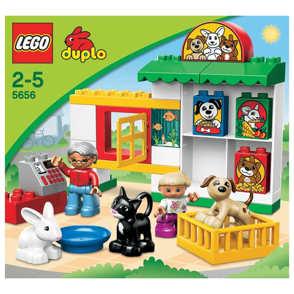Лего Дупло 5656 Конструктор Зоомагазин