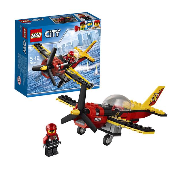 Lego City 60144 Лего Город Гоночный самолёт очки пилота в москве