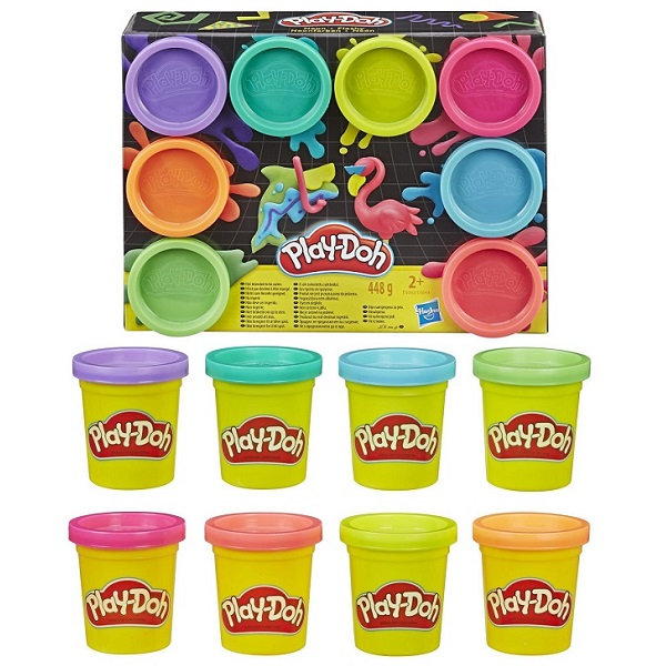 Hasbro Play-Doh E5044 Плей-До 8 цветов hasbro play doh 1 баночка в ассортименте