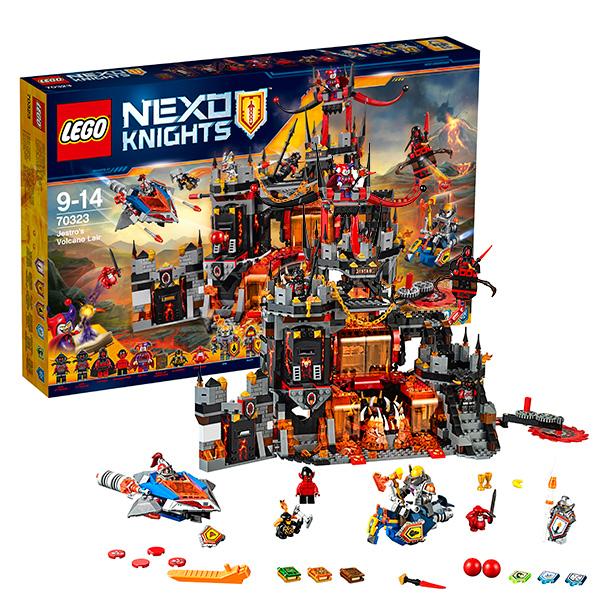 LEGO Nexo Knights 70323 Конструктор ЛЕГО Нексо Логово Джестро