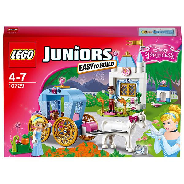 Lego Juniors 10729 Лего Джуниорс Карета Золушки
