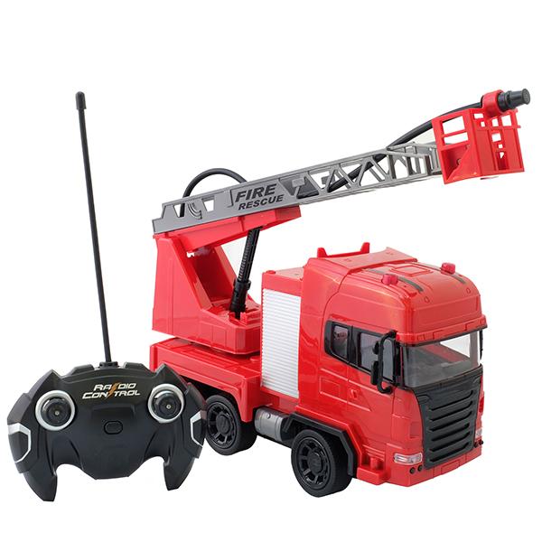 Фото - HK Industries 666-191A Пожарная машина с водой, р/у hk industries 666 653a грузовик р у