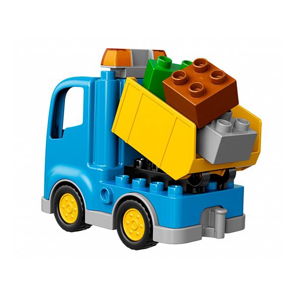 LEGO DUPLO 10812 Конструктор ЛЕГО ДУПЛО Грузовик и гусеничный экскаватор