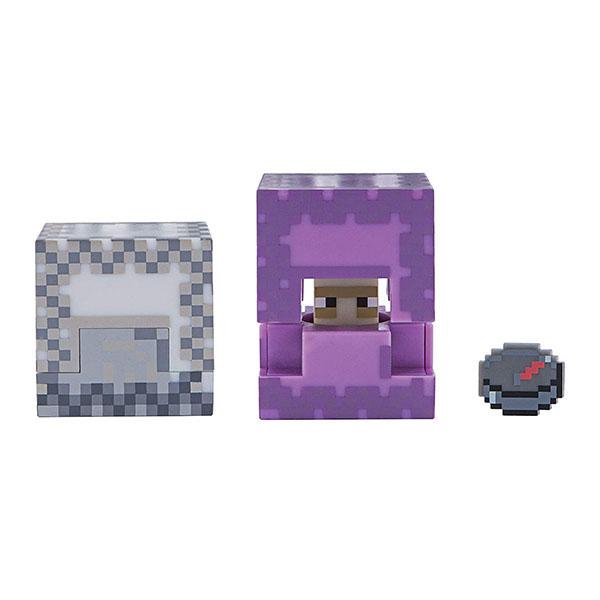 Minecraft 19973 Майнкрафт фигурка Shulker bandai фигурка minecraft mine charact box zombie 4 см