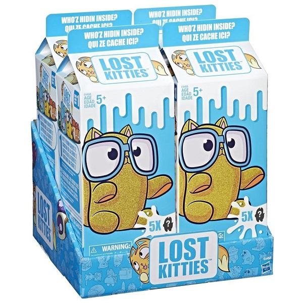 Hasbro Lost Kitties E4458 5 котиков