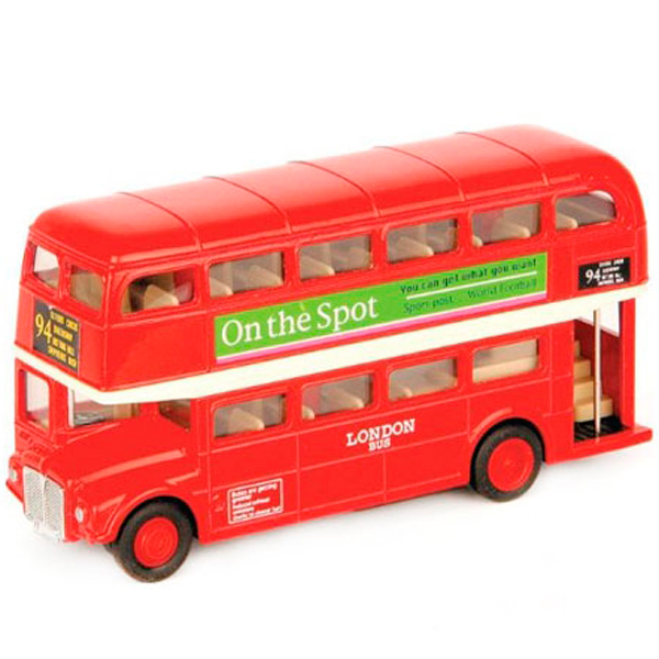 Welly 99930 Велли Модель автобуса 1:60-64 London Bus welly london bus 99930