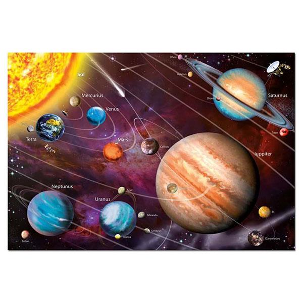 Educa 14461 Пазл 1000 деталей Солнечная система (с неоновым свечением) геодом карта пазл солнечная система 33 47 см 260 деталей