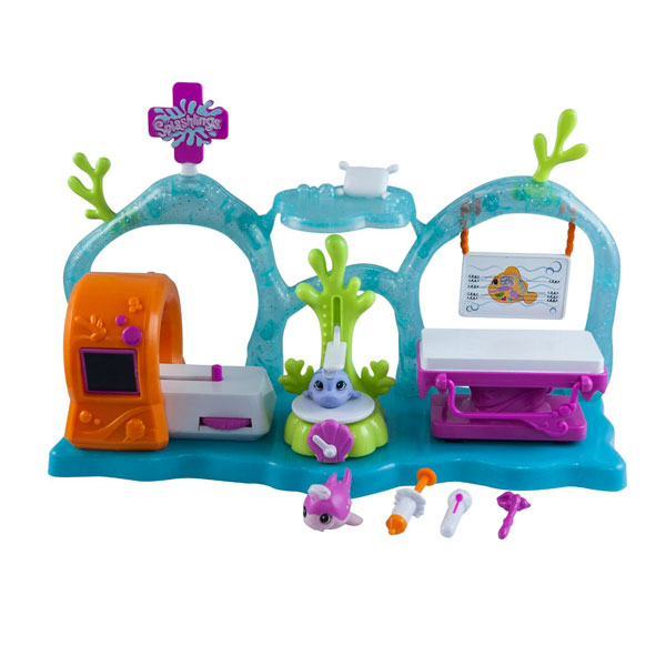 Splashlings 297566 Сплешлингс Игровой набор Медицинский Центр фигурки игрушки splashlings игрушка splashlings игровой набор медицинский центр
