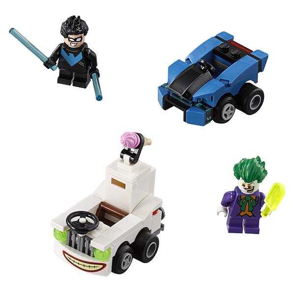 Lego Super Heroes Mighty Micros 76093 Конструктор Лего Супер Герои Найтвинг против Джокера