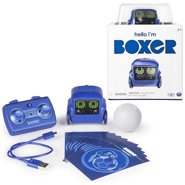 Boxer 75100-BS интерактивный робот (синий) boxer 75100 bs интерактивный робот синий