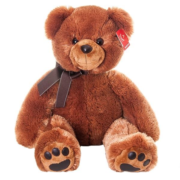Aurora 41-102 Аврора Медведь тёмно-коричневый 70 см aurora медведь коричневый сидячий 61589