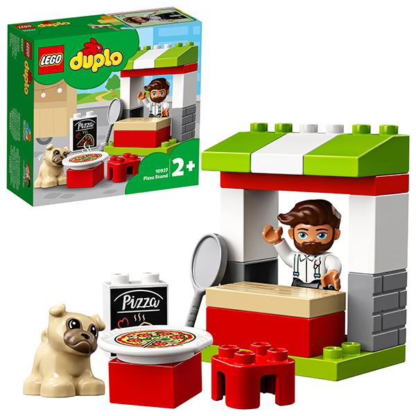 цена LEGO DUPLO 10927 Конструктор ЛЕГО ДУПЛО Киоск-пиццерия онлайн в 2017 году