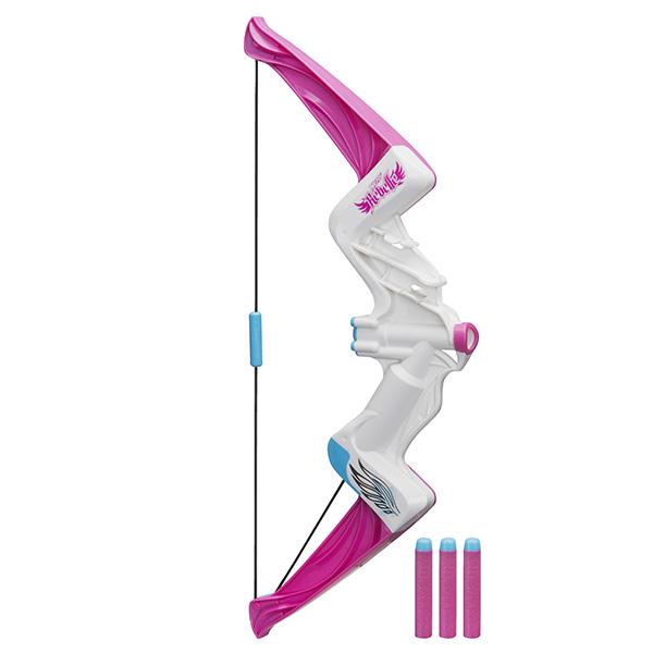 Hasbro Nerf B8213 N-Rebelle Лук Яркое приключение  лук hasbro nerf n rebelle яркое приключение
